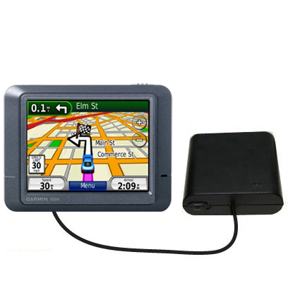 AA Battery Pack Charger compatible with the Garmin Nuvi 215