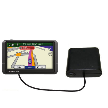 AA Battery Pack Charger compatible with the Garmin Nuvi 245 245T 245WT
