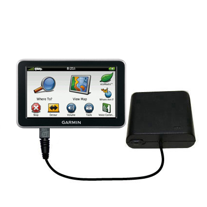 AA Battery Pack Charger compatible with the Garmin Nuvi 2460 2450
