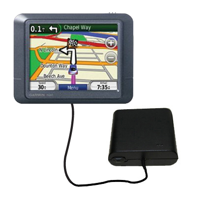 AA Battery Pack Charger compatible with the Garmin Nuvi 255