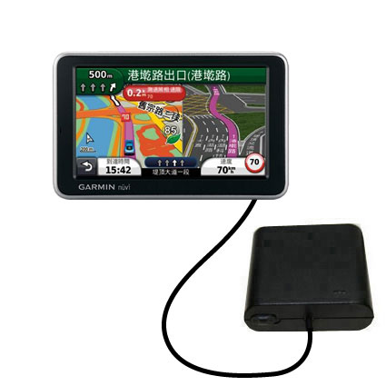 AA Battery Pack Charger compatible with the Garmin Nuvi 2555 2595 LMT