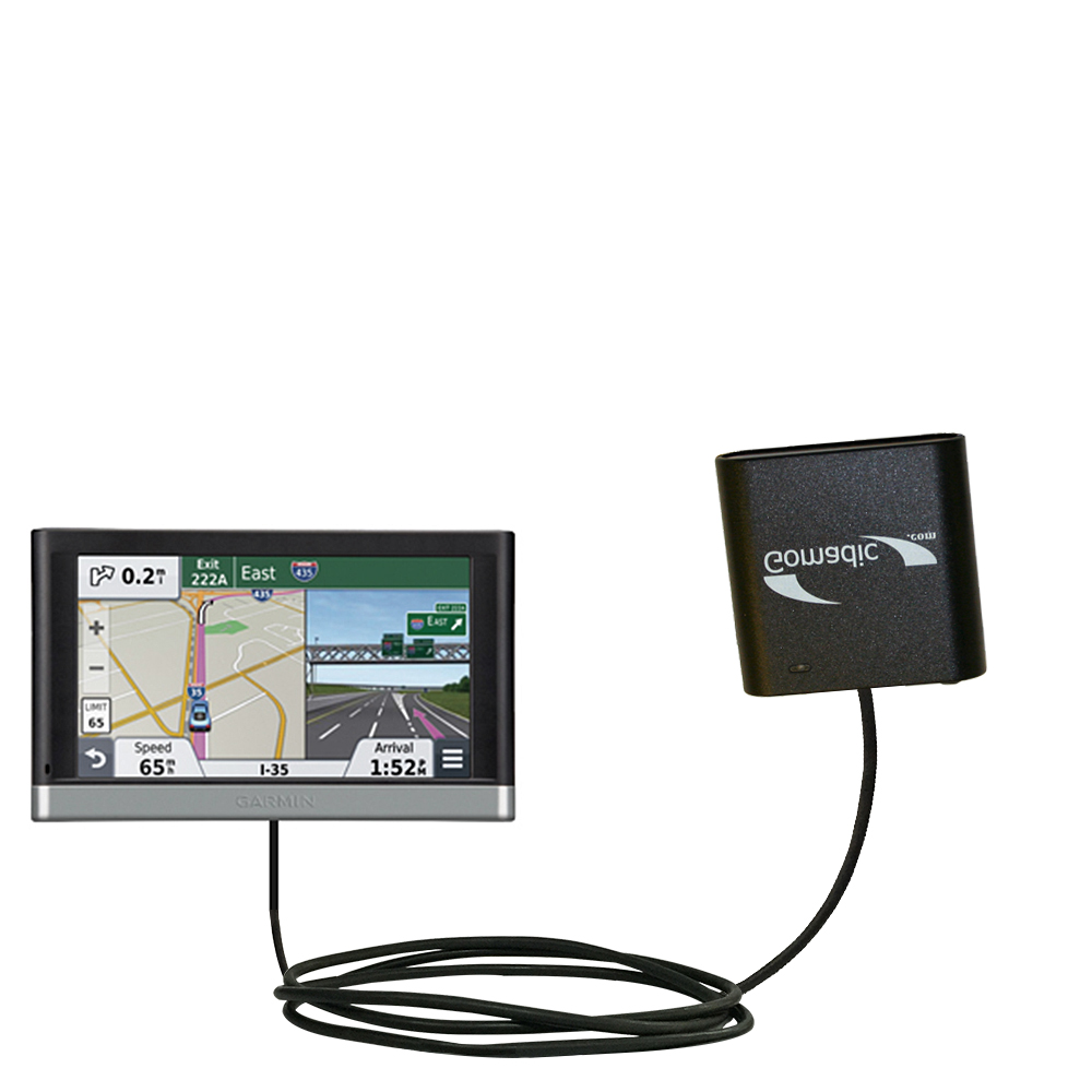AA Battery Pack Charger compatible with the Garmin nuvi 2557 / 2577 / 2597 LMT