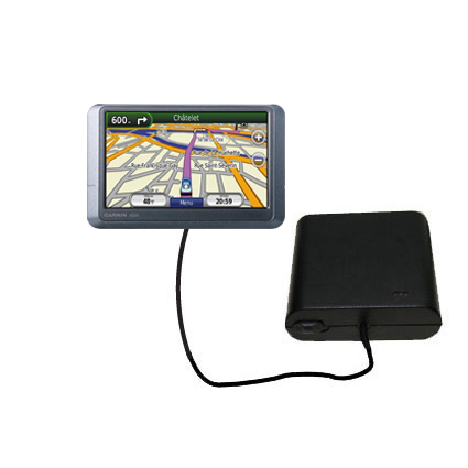 AA Battery Pack Charger compatible with the Garmin nuvi 255WT