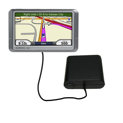 AA Battery Pack Charger compatible with the Garmin Nuvi 260W 260