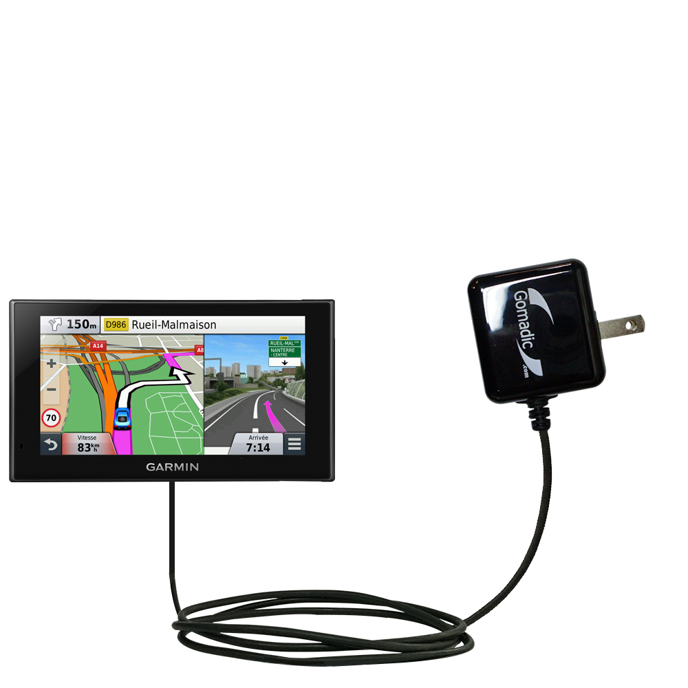 Wall Charger compatible with the Garmin nuvi 2669 / 2689 LMT