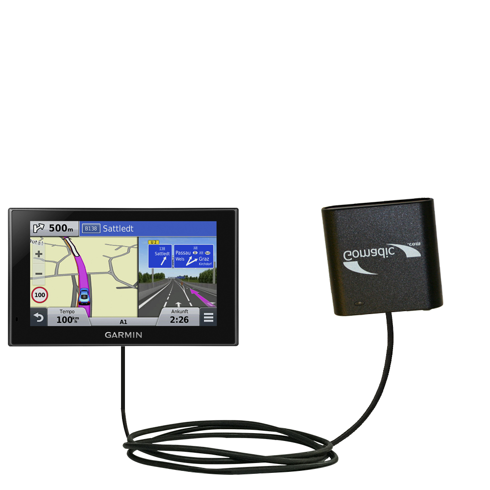 AA Battery Pack Charger compatible with the Garmin nuvi 2789 LMT