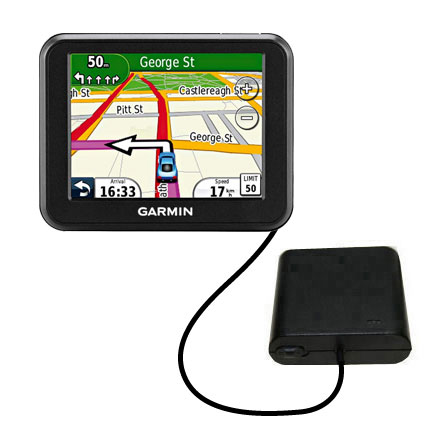 AA Battery Pack Charger compatible with the Garmin Nuvi 30