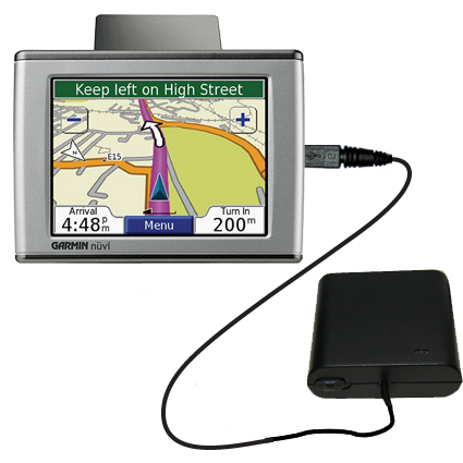 AA Battery Pack Charger compatible with the Garmin Nuvi 350