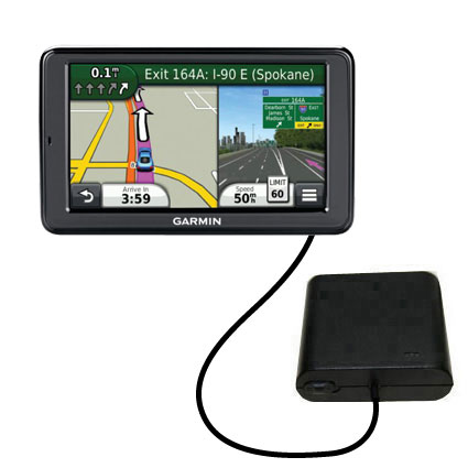 AA Battery Pack Charger compatible with the Garmin Nuvi 3550