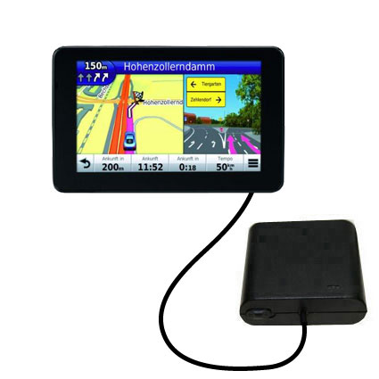 AA Battery Pack Charger compatible with the Garmin Nuvi 3590 3590LMT