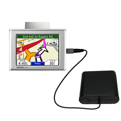 AA Battery Pack Charger compatible with the Garmin Nuvi 370