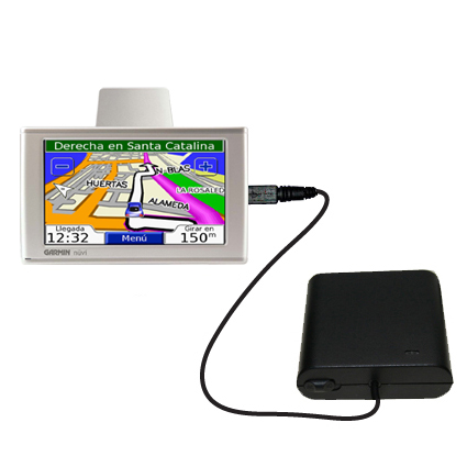 AA Battery Pack Charger compatible with the Garmin Nuvi 610