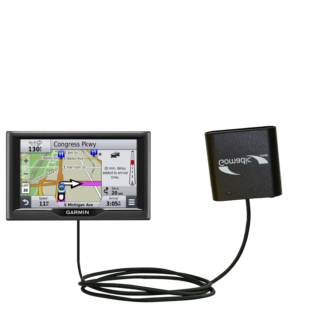 AA Battery Pack Charger compatible with the Garmin nuvi 67 / 68 LM LMT