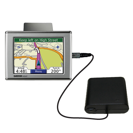 AA Battery Pack Charger compatible with the Garmin Nuvi 670