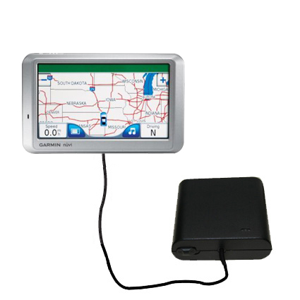 AA Battery Pack Charger compatible with the Garmin Nuvi 750