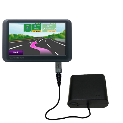AA Battery Pack Charger compatible with the Garmin Nuvi 785T