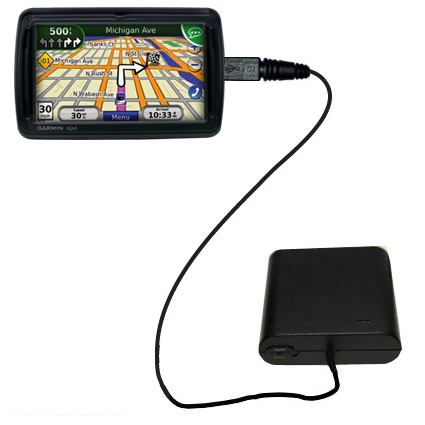AA Battery Pack Charger compatible with the Garmin Nuvi 855