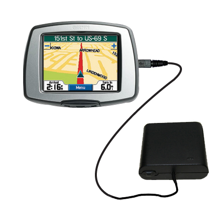 AA Battery Pack Charger compatible with the Garmin StreetPilot C330