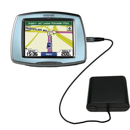 AA Battery Pack Charger compatible with the Garmin StreetPilot C530