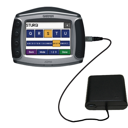 AA Battery Pack Charger compatible with the Garmin Zumo 450
