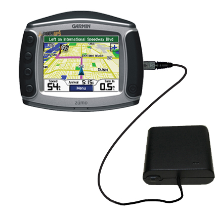 AA Battery Pack Charger compatible with the Garmin Zumo 550