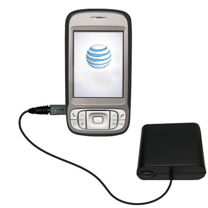 AA Battery Pack Charger compatible with the HTC 3G UMTS PDA Phone