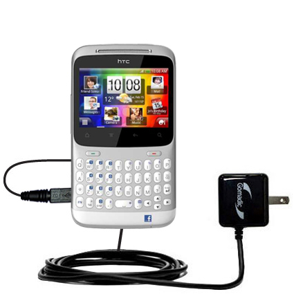 Wall Charger compatible with the HTC ChaCha