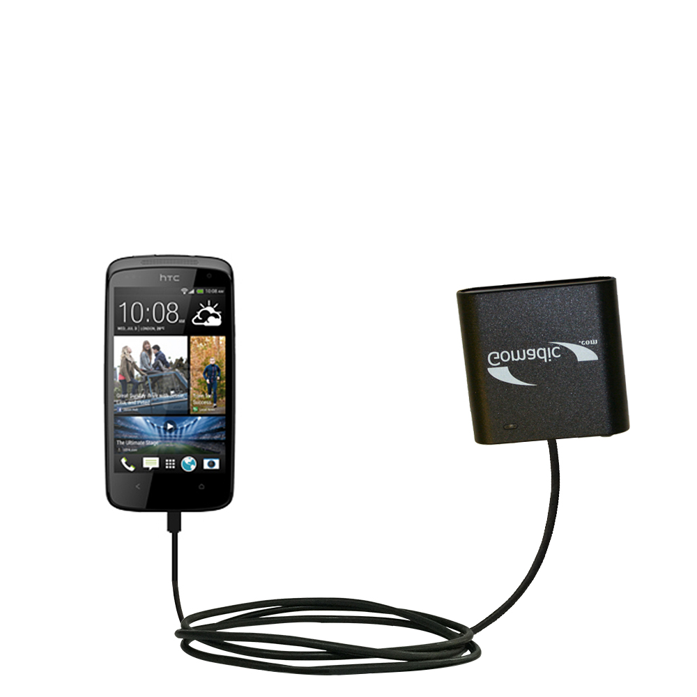 AA Battery Pack Charger compatible with the HTC Desire 500