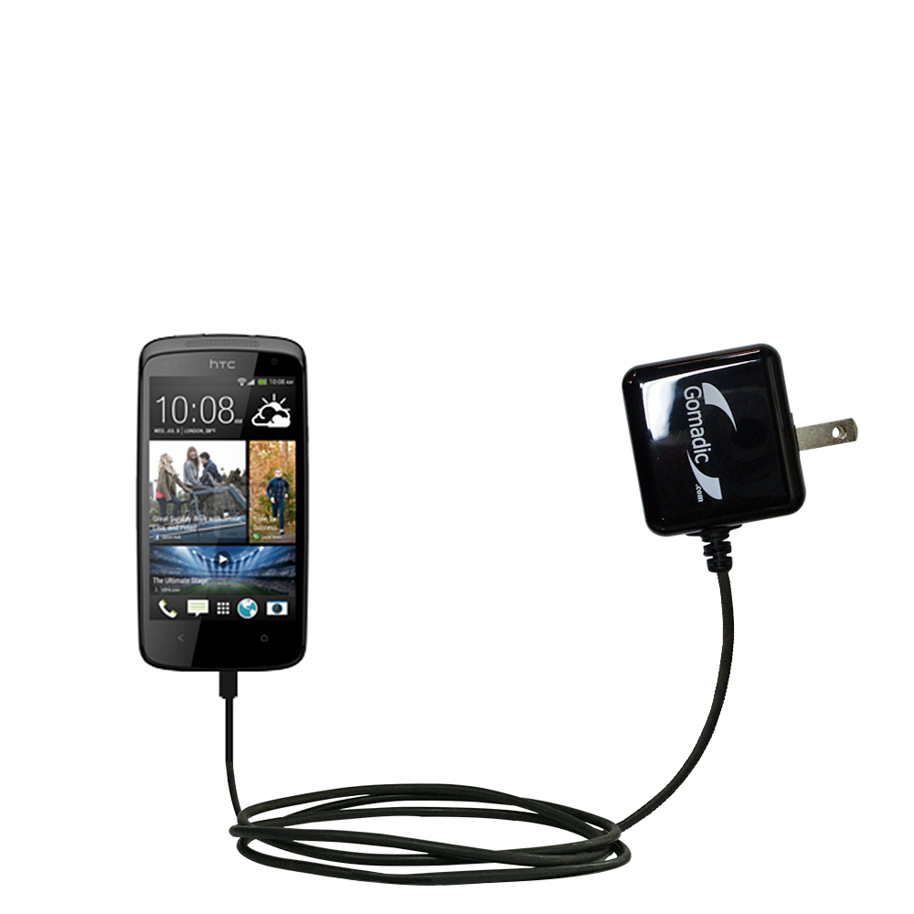 Wall Charger compatible with the HTC Desire 500