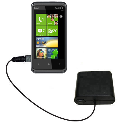 AA Battery Pack Charger compatible with the HTC Eternity