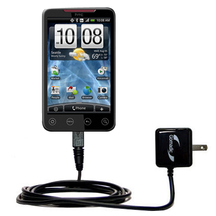 Wall Charger compatible with the HTC EVO 4G