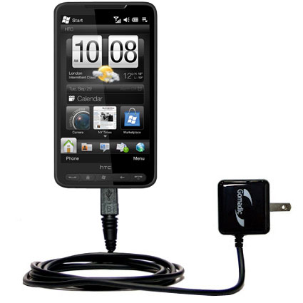 Wall Charger compatible with the HTC HD2