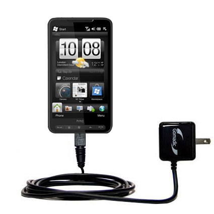 Wall Charger compatible with the HTC HD3