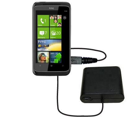 AA Battery Pack Charger compatible with the HTC Mazaa