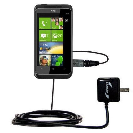 Wall Charger compatible with the HTC Mazaa