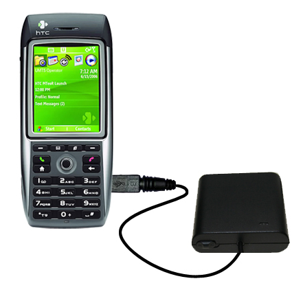 AA Battery Pack Charger compatible with the HTC MTeoR