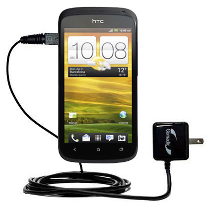 Wall Charger compatible with the HTC One S / Ville