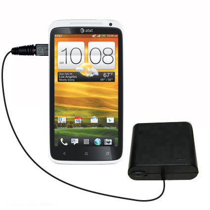 AA Battery Pack Charger compatible with the HTC One X