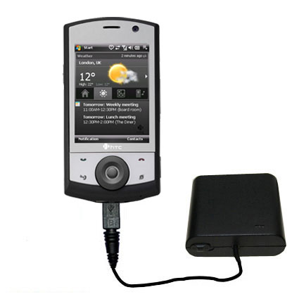AA Battery Pack Charger compatible with the HTC Polaris