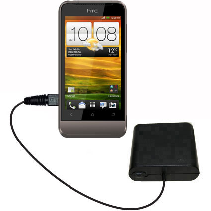 AA Battery Pack Charger compatible with the HTC Primo / T320e