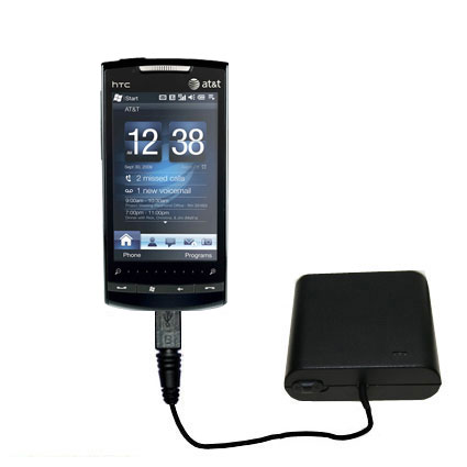 AA Battery Pack Charger compatible with the HTC Pure
