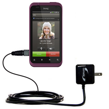 Wall Charger compatible with the HTC Rhyme