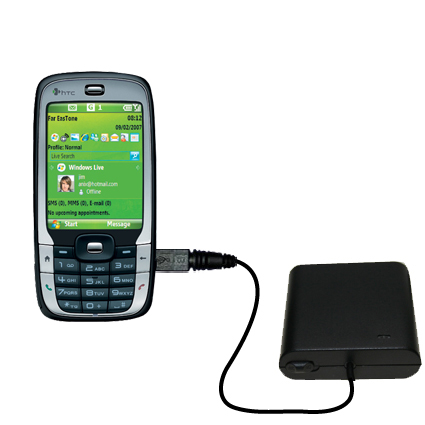 AA Battery Pack Charger compatible with the HTC S710