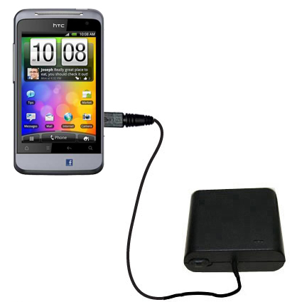 AA Battery Pack Charger compatible with the HTC Salsa