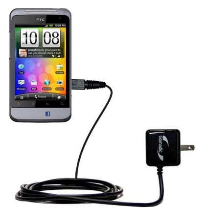 Wall Charger compatible with the HTC Salsa