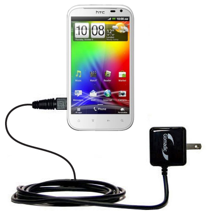 Wall Charger compatible with the HTC Sensation XL