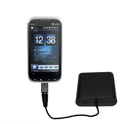 AA Battery Pack Charger compatible with the HTC Tilt2
