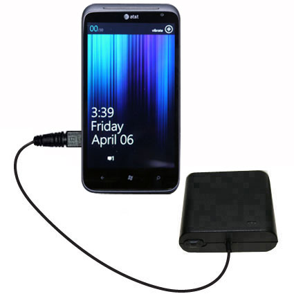 AA Battery Pack Charger compatible with the HTC Titan II