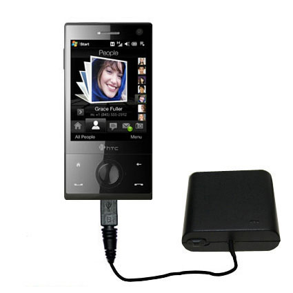 AA Battery Pack Charger compatible with the HTC Touch Diamond