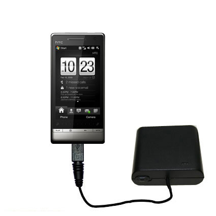 AA Battery Pack Charger compatible with the HTC Touch Diamond2